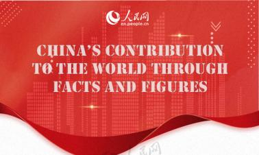 Infographic: China's contribution to the world through facts and figures