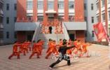 厉害!胶州700小学生组武术方阵 将登威尼斯娱乐平台献礼端午节