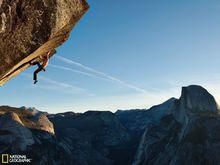 约塞米蒂的攀岩活动