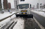 南京栖霞城管:雪不停,我们不停!