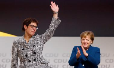 Unity dilemma for Merkel's prodigy
