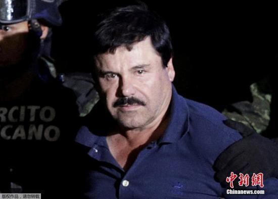 遭重武攻击 墨西哥安全部门释放毒枭古兹曼之子