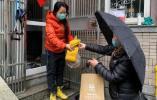"""杭州文新街道社工化身""""快递员"""" 哪里需要送哪里"""