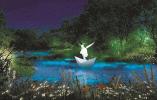 白天看雕塑 夜晚赏灯光 西溪雕塑园又有新玩法