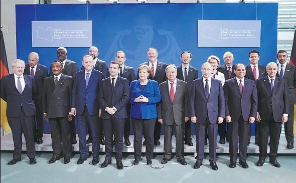 利比亚问题峰会规模空前