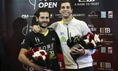 Egypt's Gawad claims title of Black Ball Squash Open 2018