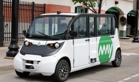 密歇根初创公司May Mobility将在俄亥俄州部署自动驾驶接驳车 12月1日开始服务