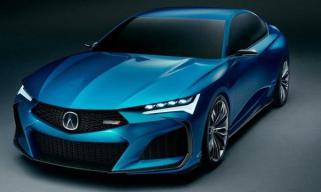 预示全新TLX设计 讴歌Type S概念车官图