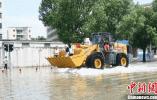 浙江临海城区洪水渐退 直接经济损失约20.7亿元