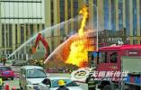 无锡一路段燃气泄漏起火 所幸无人伤亡