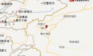 新疆伽师县发生5.5级地震 震中20公里范围内人口约2万