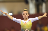 体操世界杯多哈站 温州小将黎琪平衡木折桂
