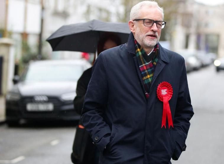 英国工党领袖科尔宾宣布辞职