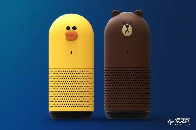 智能音箱成科技行业的新热点 Line公布新计划