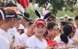 齐河马拉松|戴着兔子耳朵,领跑员们牵着的气球可有大用处