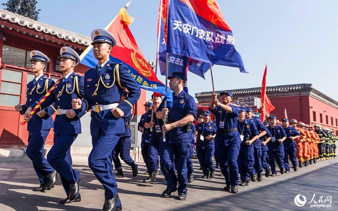 国庆70周年 分分快3分分快3技巧技巧 北京 市消防安保背后的故事