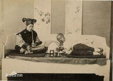 鸦片对中国人的毒害