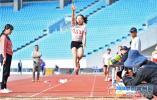 2019年常州市中小学生田径锦标赛在奥体中心开赛