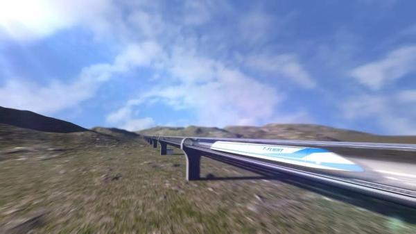 高速飞行列车