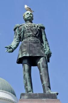 议会广场英雄雕像