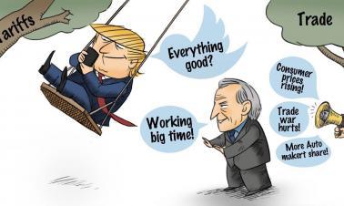 Trade war is no swing game