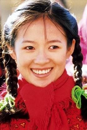 章子怡在《我的父亲母亲》中形象