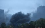 日本天皇即位典礼在即 皇居附近突发火灾黑烟骤起
