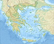 希腊地形图