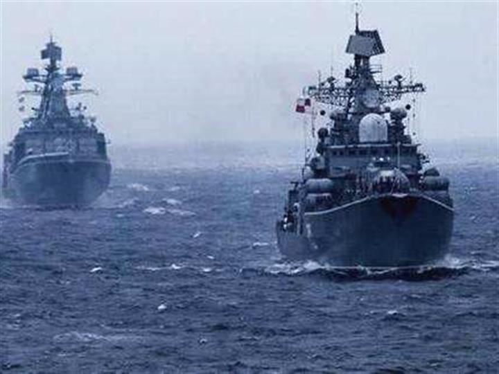俄舰队监视进入波罗的海的北约军舰