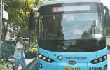微公交开通半个月 三水湾小区居民出行方便了