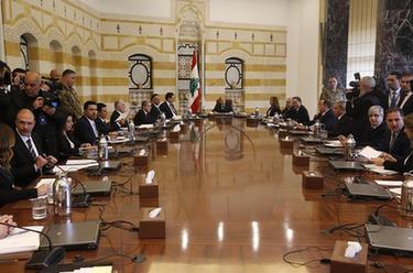 黎巴嫩新内阁召开首次会议