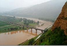 渭河沿岸风光