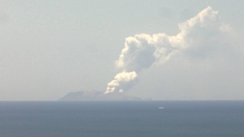快讯!新西兰白岛发生火山喷发 或造成数十人受伤