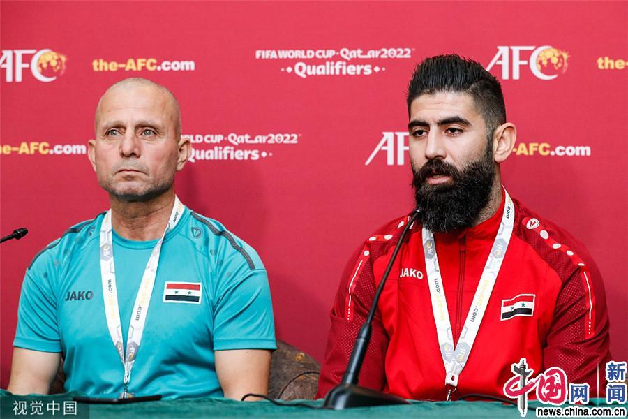 2022世预赛亚洲区A组前瞻:叙利亚训练备战并召开发布会