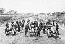1870年淮军的炮队