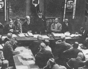 希特勒主持会议