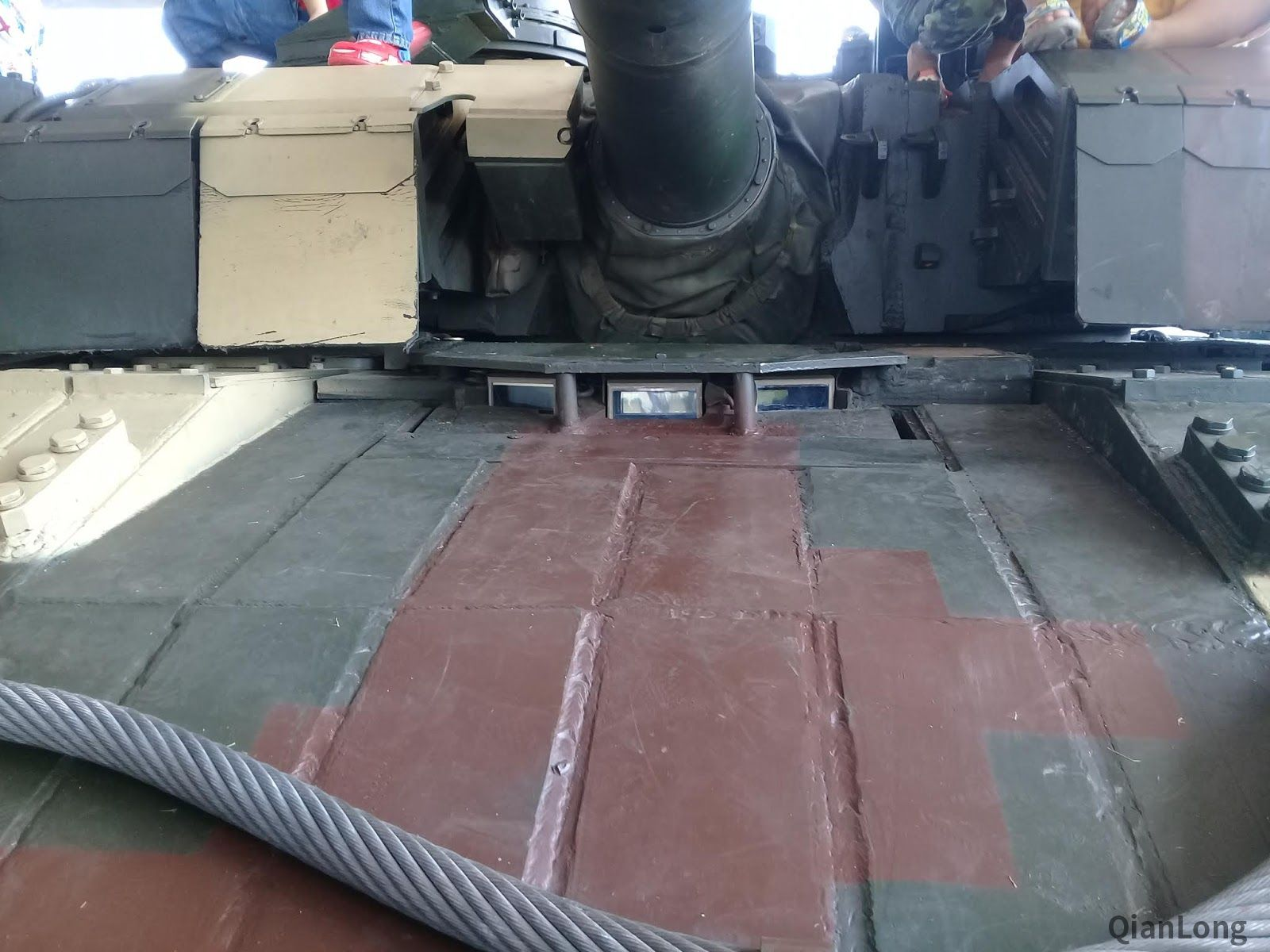 泰国装甲部队开放日 VT-4坦克上依然保留中文标示
