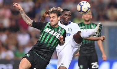 Inter Milan lost 0-1 in Serie A match against Sassuolo