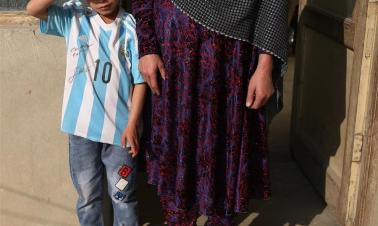 In pics: Afghanistan little Messi fan Murtaza Ahmadi