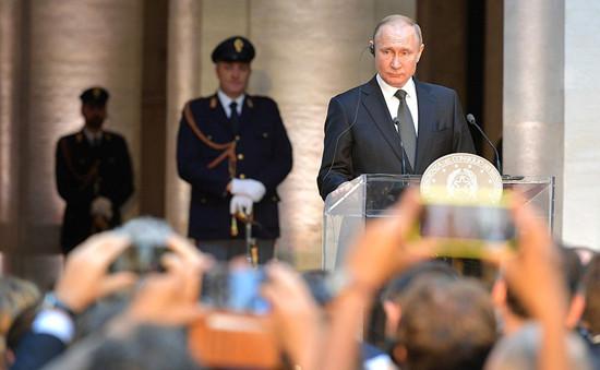普京:俄方热切希望中美达成贸易协议