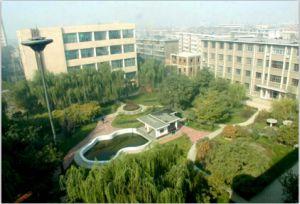 大东关校区俯瞰校园