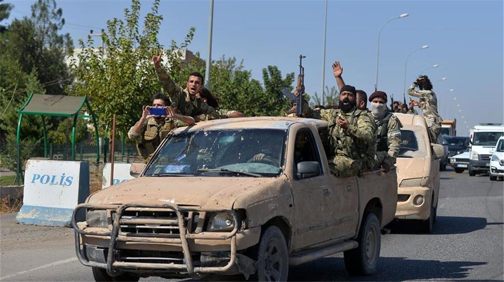 """""""叙利亚国民军""""参与""""和平之泉""""行动"""