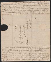 1799年的亲笔信