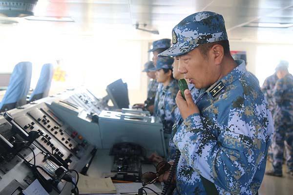 海军骆马湖舰舰长程翔:锻造全面过硬的海上支援精兵