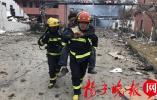 """连云港消防驰援盐城""""3.21""""爆炸事故现场,已救出27人!"""