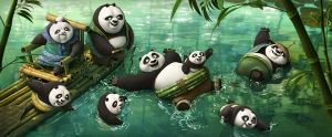 欢乐的熊猫村
