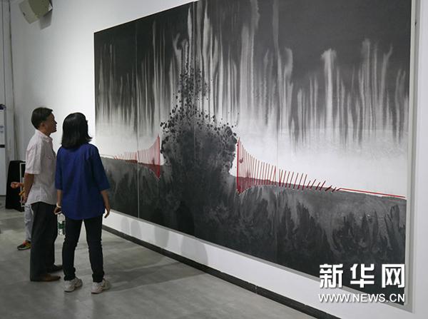 """""""融变——尚春当代艺术展""""在京开幕"""